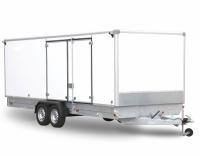 Прицеп с тормозами Фургон 6 м