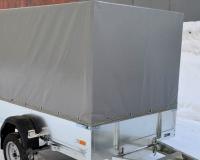 Тент для прицепа ССТ-7132-06 Прямой (компл.)